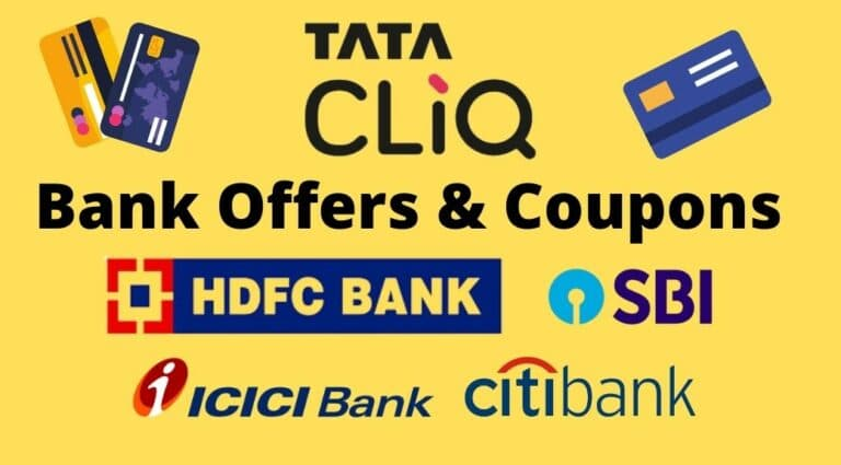 Tata CLiQ Bank Offers and coupons