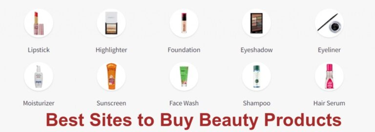 Best SItes to Buy Beauty Products