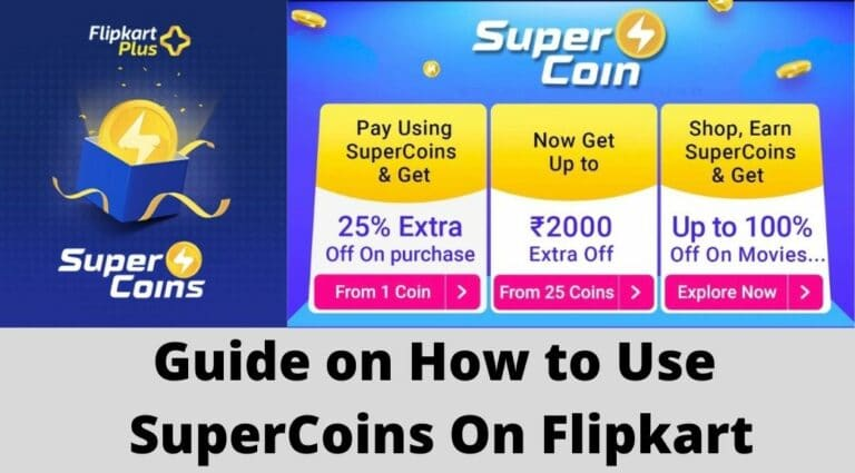 How to use Super coins on Flipkart