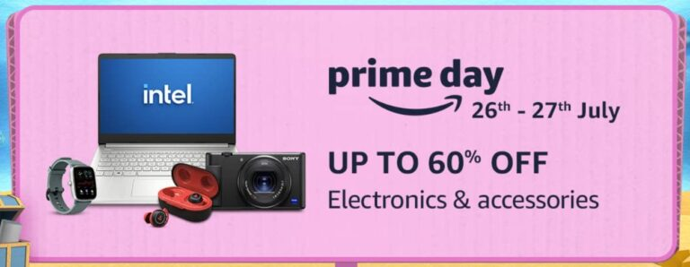 Amazon Prime Day Offers on Electronics