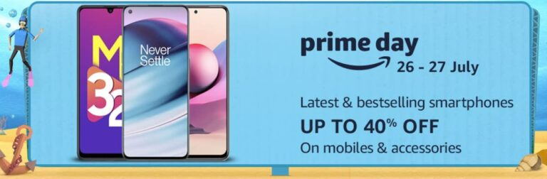 Amazon Prime Day Sale Mobile Offers