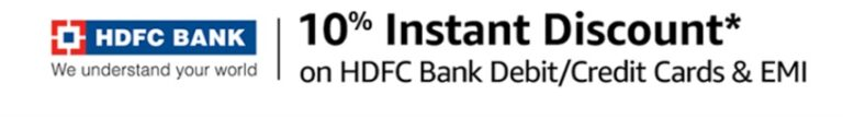 Amazon Sale HDFC Bank Offer
