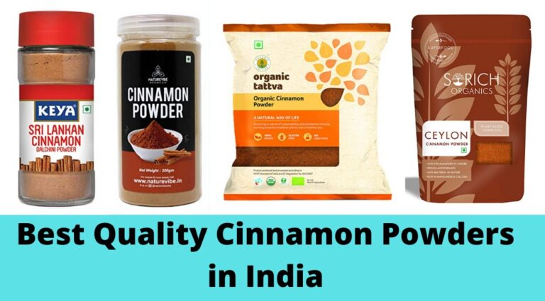Top 5 and Best Quality Cinnamon Powder in India