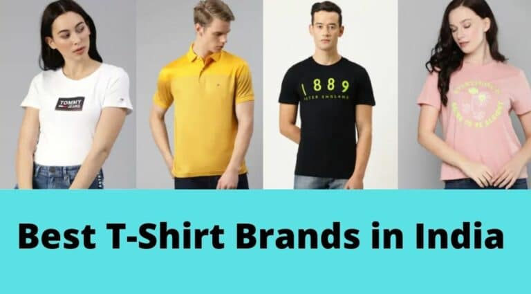 Top 10 and Best T-Shirt Brands in India