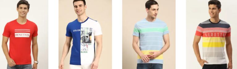 United Colours of Benetton T Shirts