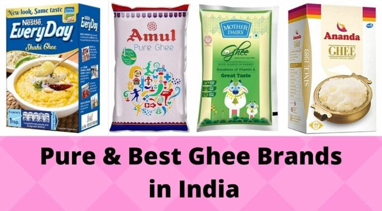 Pure and Best Ghee Brands in India