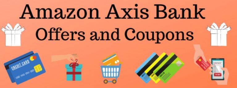 Amazon Axis bank offers and coupons