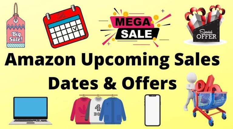 Amazon upcoming sale dates and offers